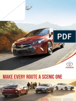 2017 Toyota Camry Brochure