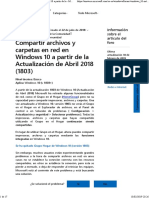 Compartir Archivos y Carpetas en Red en Windows 10 a Partir de La - Microsoft Community