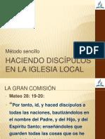 Haciendo discípulos en la iglesia local.pptx