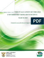 Government Roles University of Pretoria