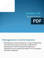 Lecture 10 Transfer Pricing