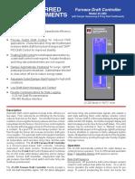 JC-22D Furnace Draft Controller Brochure