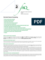 Faq085-Ervical Cancer Screening