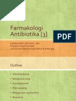 Farmakologi Antibiotika [3]