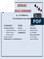 flyer jeffreys bay teams of 4 tournament 26 - 28 october 2018prelim flyer