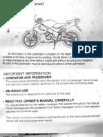 Cbr150 English Manual