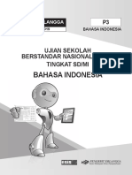 To Spm Plus Usbn Sd 2019 Bahasa Indinesia Paket 3 Soal