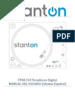 User Manual Str8-150hp Spanish