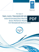 Case  study on TAMIL NADU TRANSGENDER WELFARE BOARD: