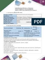 Guía de actividades y rúbrica de evaluación - Ciclo de la tarea - Tarea 3.docx