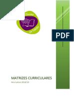 Documento - Matrizes Curriculares 2018-19 - Versão 3