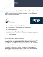 Acutina Code of Ethics