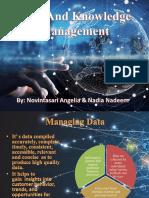 Data and Knowledge Management Novi & Nadia
