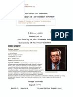 Kennedy, George 1978 - Advocates of Openness (FOIA)