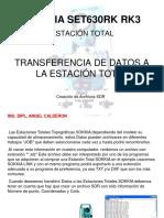 Transferencia de Datos Estacion Total