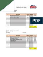 Pedidos Productos Unión - CA Sjl