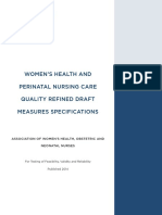Perinatalqualitymeasures Ref