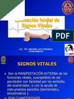 Signos Vitales. 28 Oct. 2010