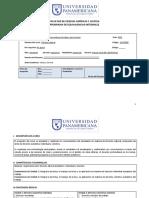 Programa Derecho Laboral 2019
