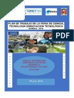PLAN DE TRABAJO DE LA FERIA ESCOLAR DE CIENCIA Y TECNOLOGÍAEUREKA 2017.docx