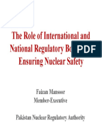 Mr_Faizan Mansoor, Member (Executive), Pakistan Nuclear Regulatory Authority-5a40