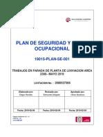 3.0 Plan de Seguridad y Salud Ocupacional