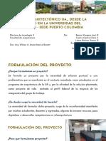 Formulación metodológica de un proyecto de emprendimiento