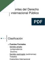 Derecho internacional público. Fuentes
