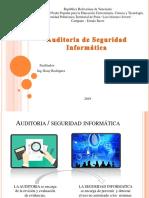 Auditoría de seguridad informatica