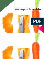 4.Analisis Biaya Volume Laba