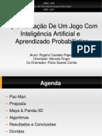 ImplementaçãoDeUmJogoCom InteligênciaArtificiale AprendizadoProbabilístico