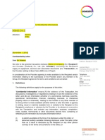 Confidentiality Agreement DBNL4