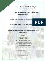 Trabajo Instalaciones de Gas