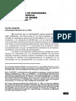 Astarita, Carlos - Crisis y cambio de paradigma en la historiografía. Una perspectiva desde el medievalismo.pdf