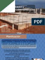Presentacion de Planificacion y Proceso Constructivo