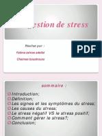 Gestion de Stresse