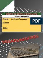 DESARENADORES-dapositivas