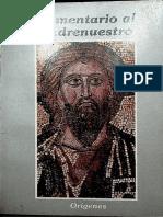COMENTARIO AL PADRE NUESTRO ORIGENES.pdf