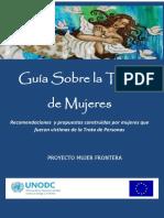 Guía sobre la trata de mujeres