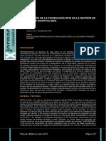 Implantacion de La Tecnologia Rfid en La Gestion de La Lenceria Hospitalaria