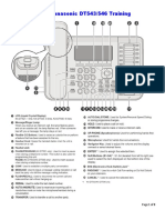 Panasonic-DT543-Set-Training-Guide