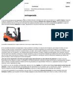 La Carretilla Elevadora Contrapesada - Mecalux.es