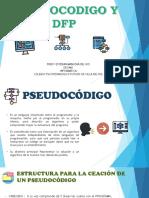 Pseudocodigo y Dfd