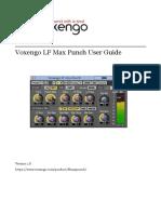 Voxengo LF Max Punch User Guide En