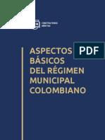 Cartilla 004 Aspectos Basicos Del Regimen Municipal Colombiano v2