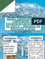 Circulación de Las Aguas Subterraneas