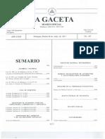 Ley No. 950 Reforma a La Ley No. 741 o Ley Sobre El Contrato de Fideicomisio GDO # 105 Del 06052017