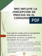 Influye La Percepcion Del Precio en El Consumidor