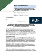 Ley No. 716 o Ley Especial para el Establecimiento de Condiciones Básicas y de Garantías entre InstMicrofin y Deudores 2010.docx