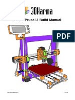 3DKi3 Prusa i3 Build Manual v1.2